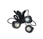 Three Light LED Light Kit with Rubber Stopper