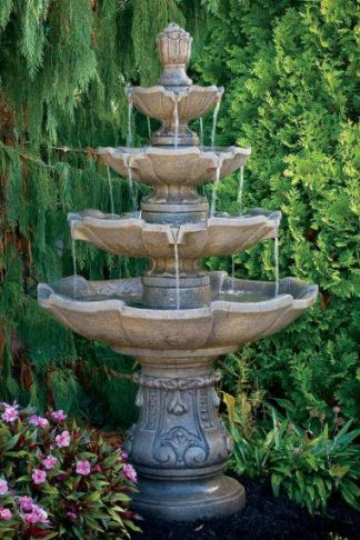 Four or More Tier Fountains