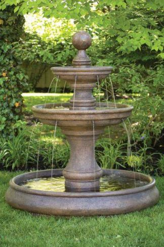Pooled and Ground Basin Fountains