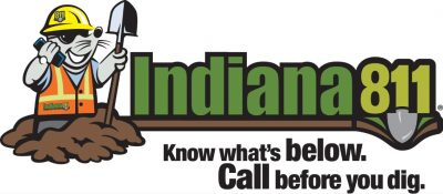 Call 811 on your phone to have your underground lines marked